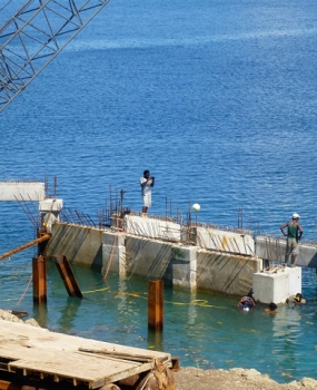 Rabi Jetty Construction