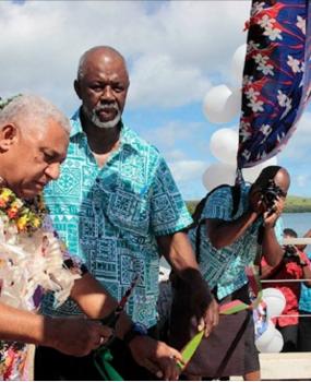 Bainimarama: New Gau Jetty Opens New Doors