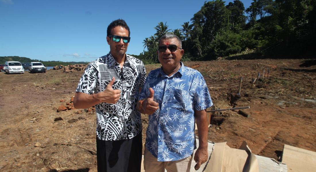 Multi millon dollar apartments at Uduya Point